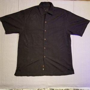 Tommy Bahama 100% silk mens L Hawaiian shirt